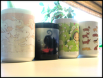 My DA Mug Collection :D by GrandmaThunderpants