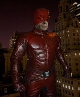 Michael C Hall as Daredevil by SteveIrwinFan96