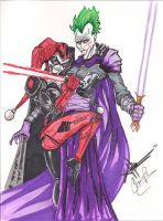 Sith Lord Joker and apprentice by dragonduff