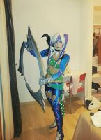 Tira Soul Calibur 5 cosplay by Beibei-J