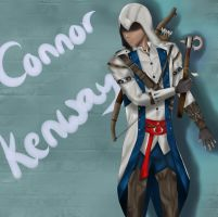 Connor Kenway by ummiehummie