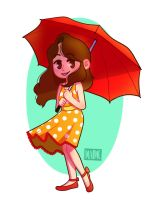 Red Umbrella by maime-m