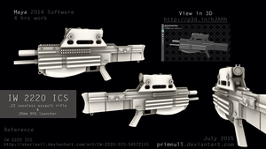 IW 2220 ICS HeavyRifle by primnull