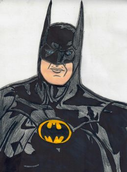 Batman (Michael Keaton) by ElvisPresleyFan3577