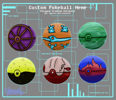 PGO Mini Contest: Design Your Own Pokeballs by AnimationMutation