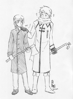 My Two Favorite Russians by ItaLuv
