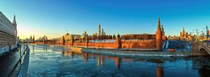 Moscow, winter, Kremlin by fly10