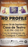No Profile Flyer Events by natacartiel