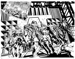 Dark Avengers Frist Preview by MikeDeodatoJr