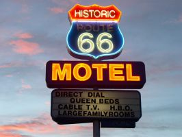 Route 66 Motel by ChibiLavos