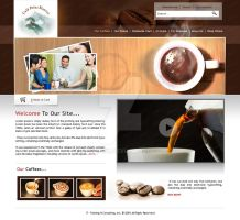 cofee site by acelogix