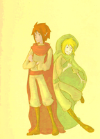 LoZ: Young Link and Ganon by LostPuzzle
