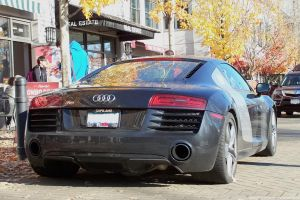 Autumn R8 by SeanTheCarSpotter