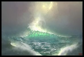 The Sea by Sentient-Phyton