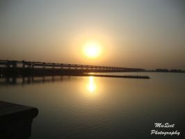 The Jamshoro Bridge.. by moizs