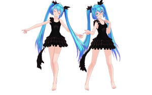 [MMD]Tda Deep Sea Girl Ver2.0[Ended] by kooooi