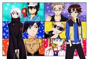 Re Hamatora START by HardOtakuVivver