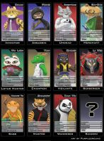KFP OC cards by Purpleground02