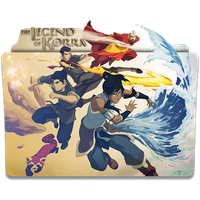 Avatar The Legend of Korra - Icon Folder by ubagutobr