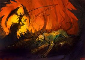 Hounds of Hell by kovah