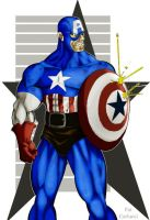 capt. america by patcarlucci by rcardoso530