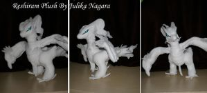Reshiram Plush by Julika-Nagara