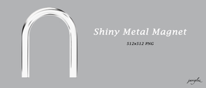 Shiny Metal Magnet by JaviGlez
