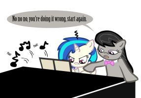 Octavia: Piano tutor by SauseSource