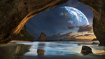 Cave on space. by utan77