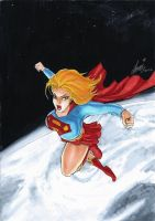 SUPERGIRL by HM1art