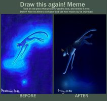 Draw this again! Universe by TidalwavePrime