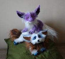 for sale: Vulpons - the fennec dragons by Hakkatu
