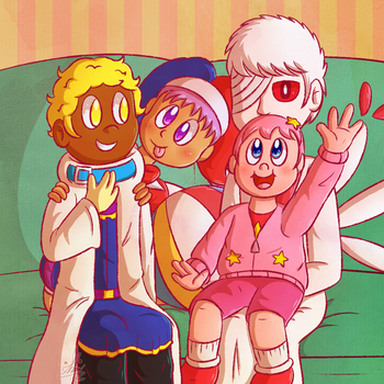 Dysfunctional Family by Candy-Swirl