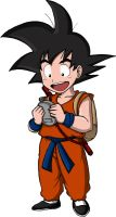 Kid Goku by Graxile
