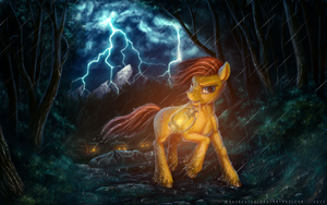 Commission: Into the woods by Bra1nEater