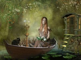 Lady of Shalott by Scarlettletters