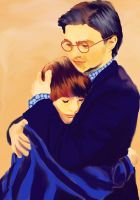 Harry and Albus Severus Potter by kennethlaurence29