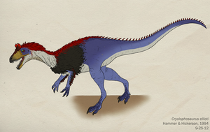 074--CRYOLOPHOSAURUS ELLIOTI by Green-Mamba