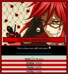 Grell Journal Skin by Chocolate-Shinigami