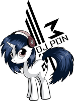 Dj Pon3 by ItsJustRED