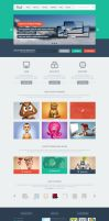 Fresh Multi-Purpose PSD Template by DarkStaLkeRR