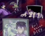 FNaF- Upon (THE FEARFUL) Daybreak by Eleanorose123