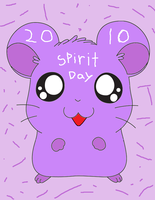 Spirit day 2010 hamster by ZeldaKinz