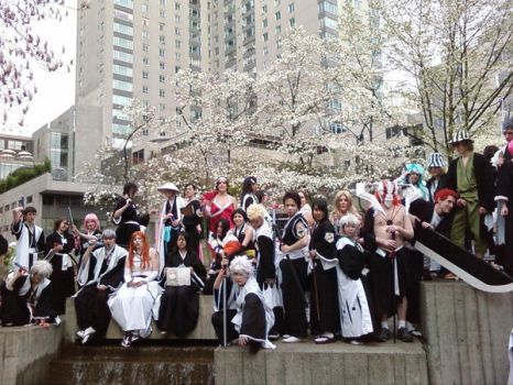 Another Bleach group pic by Bokensai