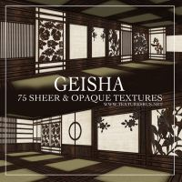 Geisha Texture Collection by roseenglish