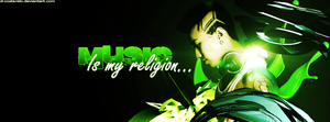 [FB Cover] Music Is My Religion by D-Costarelo