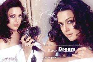 Lay with Preity Zinta by anjali95