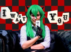 I Want You - Gumi Pokerface by darkwings16