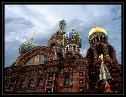 Saint Petersburg Church by FantomDroppings