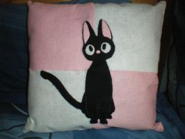 Jiji Cushion by Destined-For-Nothing